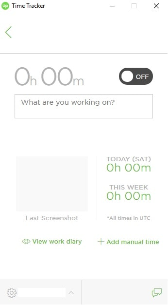 Upwork freelancing time tracker