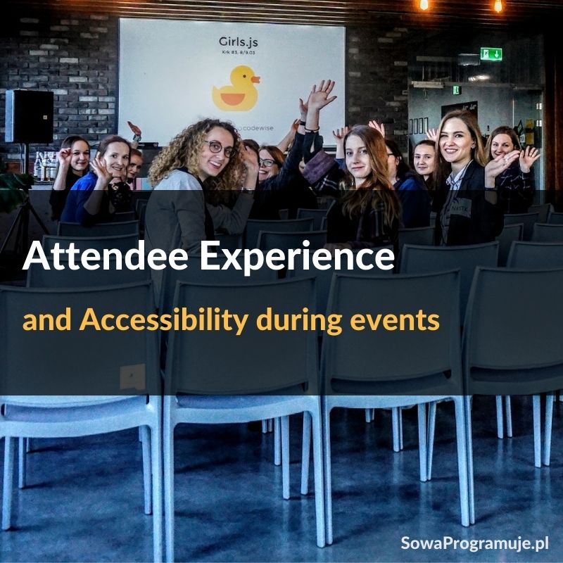 Attendee experience