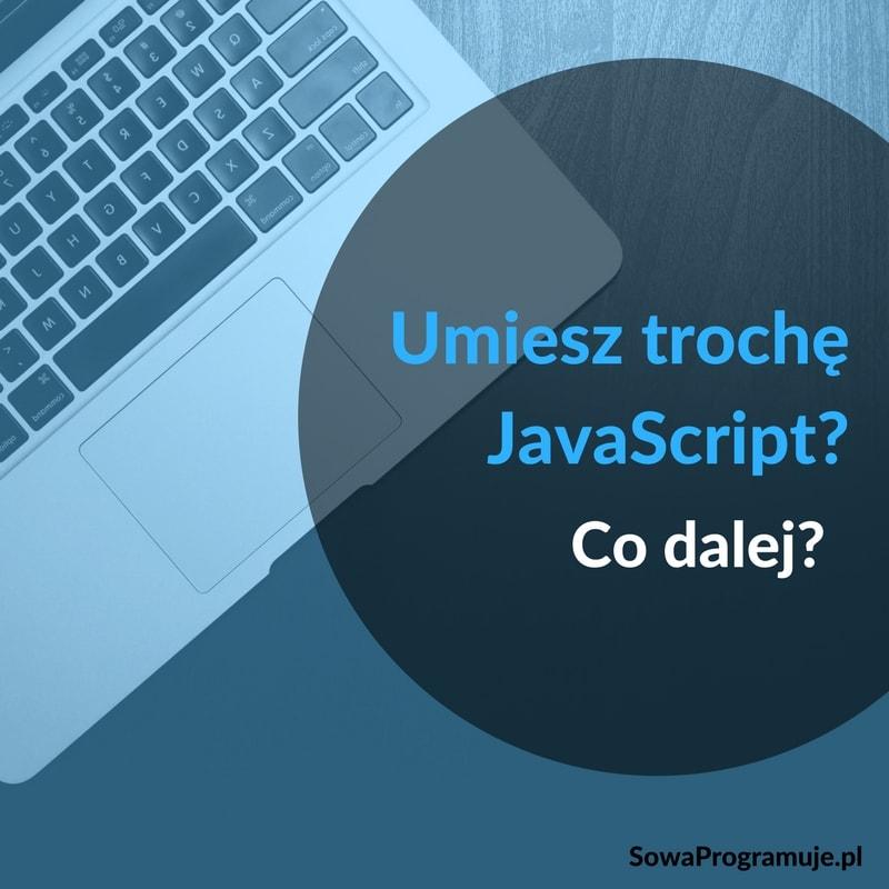Umiesz Java Script co dalej
